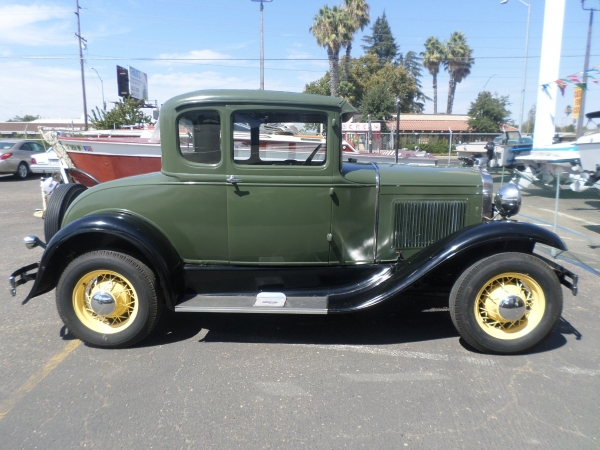 1931 Ford Model A Coupe . . . SOLD. Classic Car For Sale ... & Classic Car for sale: 1931 Ford Model A Coupe in Lodi Stockton CA ... markmcfarlin.com