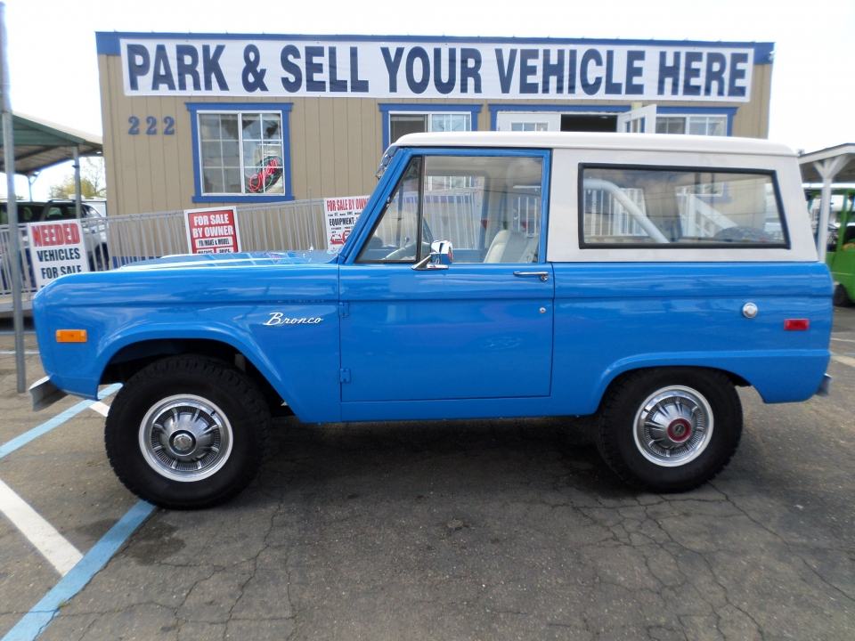 SUV for sale: 1975 Ford Bronco in Lodi Stockton CA - Lodi Park and Sell