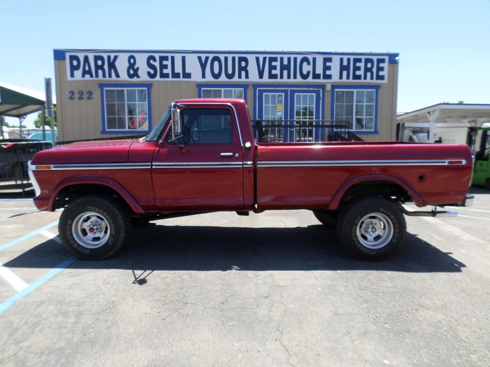 Ford F250 Ranger Highboy 4x4 1975