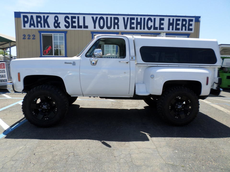 Chevy Silverado Stepside Short Bed 1978