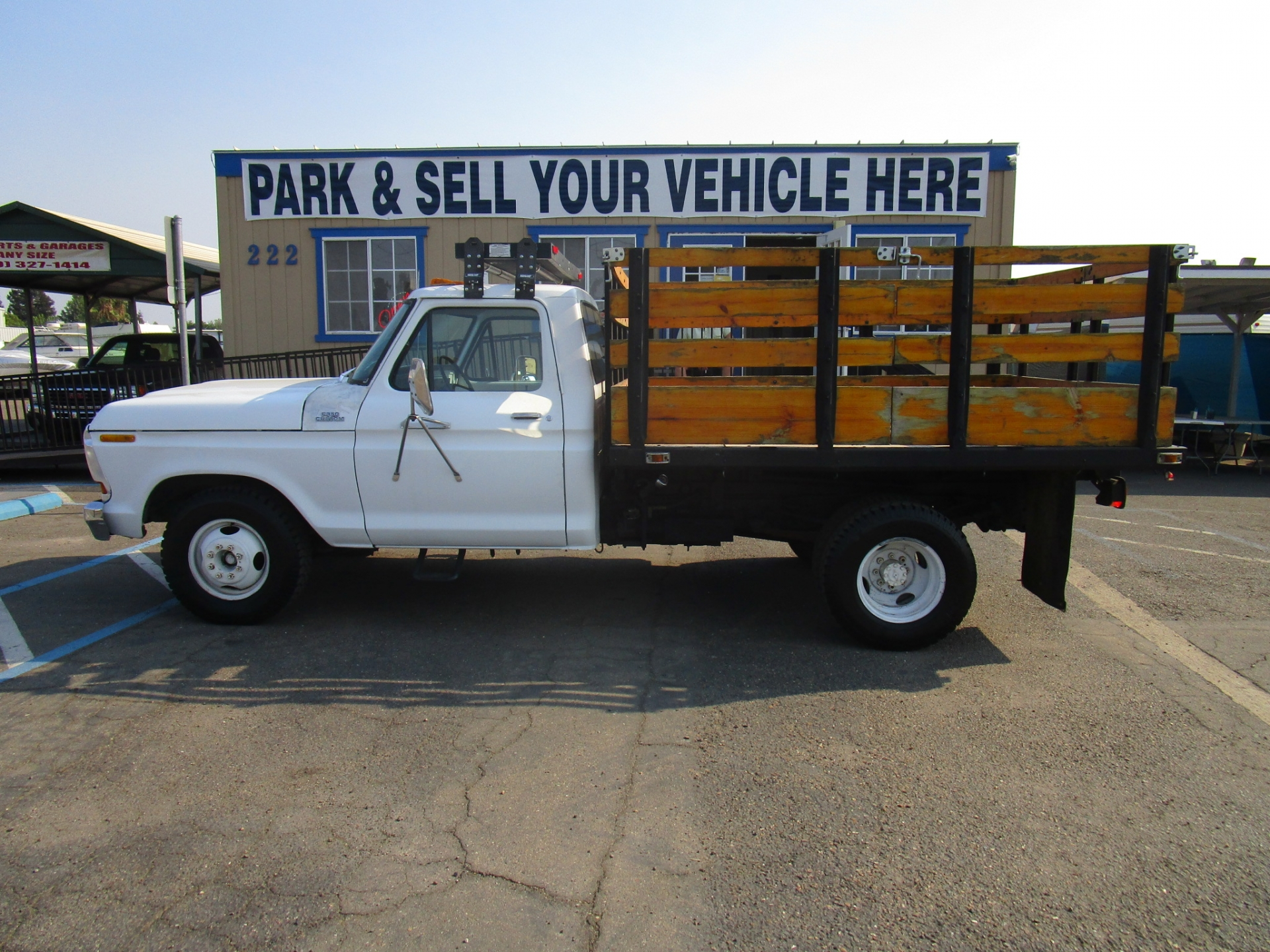Ford F350 Dually Dump Truck 1978