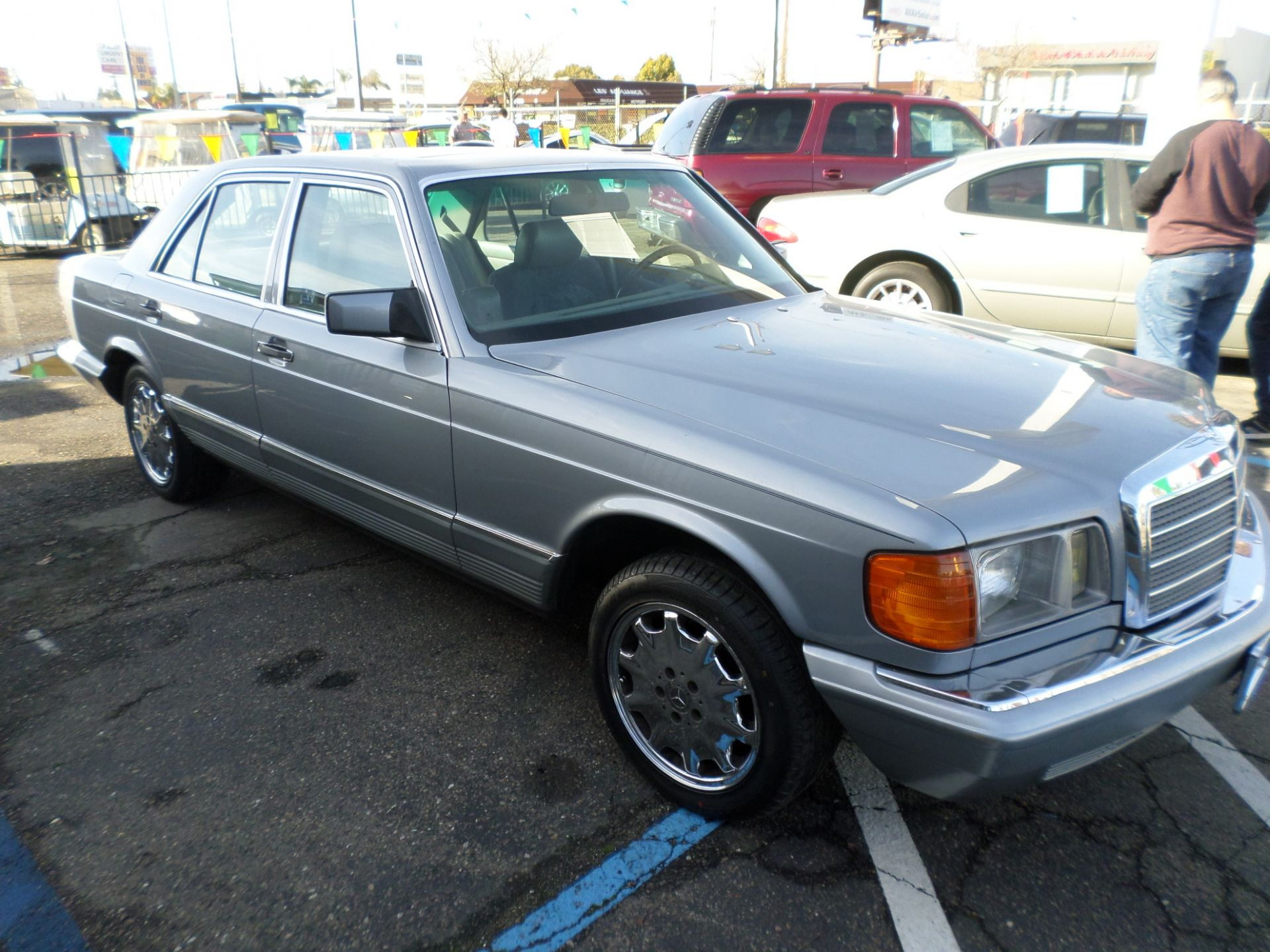 Cars For Sale In Stockton Ca: Car For Sale: 1982 Mercedes-Benz 300 SD Turbo Diesel In