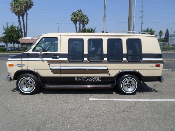 van for sale 1986 chevrolet landmark chevy van g20 conversion van in lodi stockton ca lodi. Black Bedroom Furniture Sets. Home Design Ideas