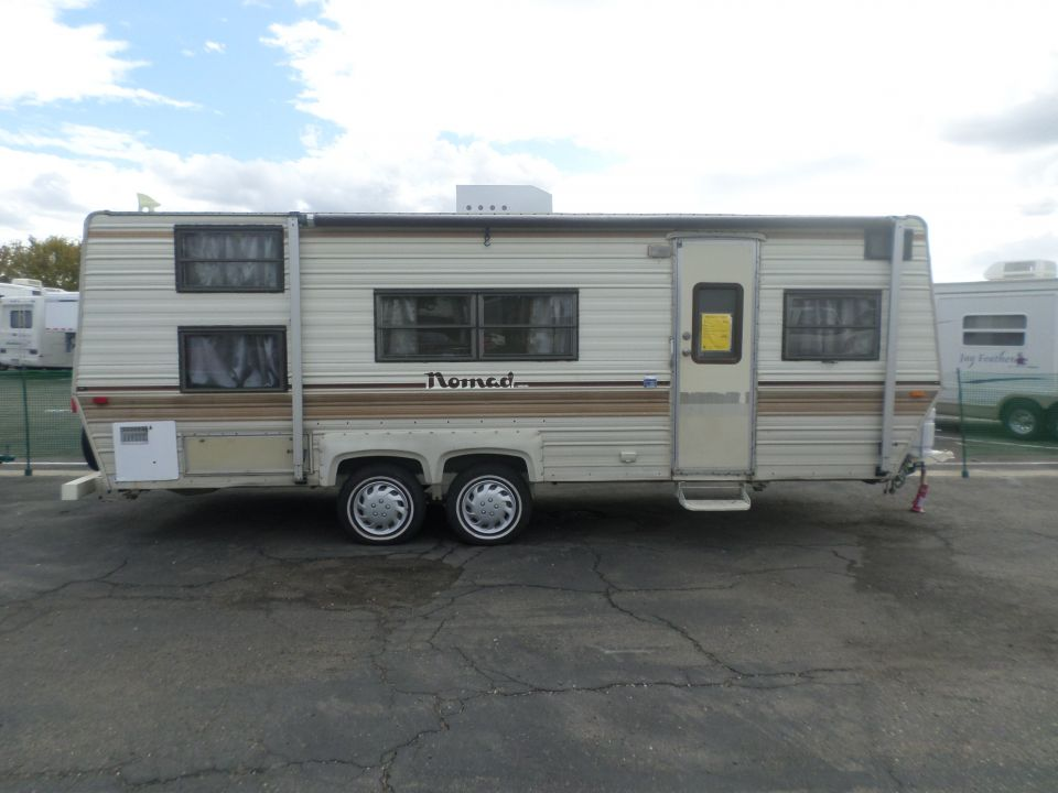 1986 Skyline Nomad Bunk House Travel Trailer