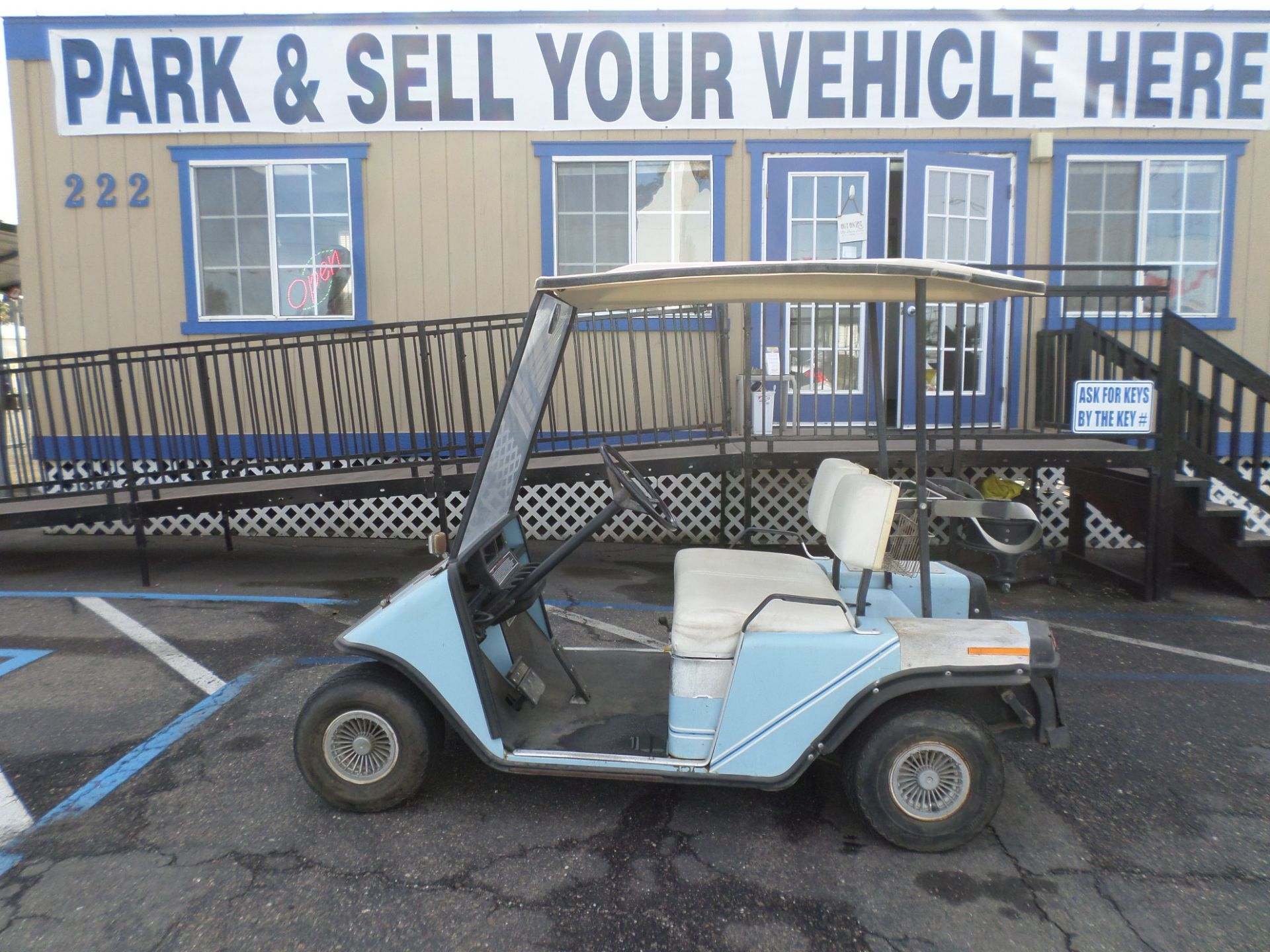 EZ-GO Golf Cart 1987