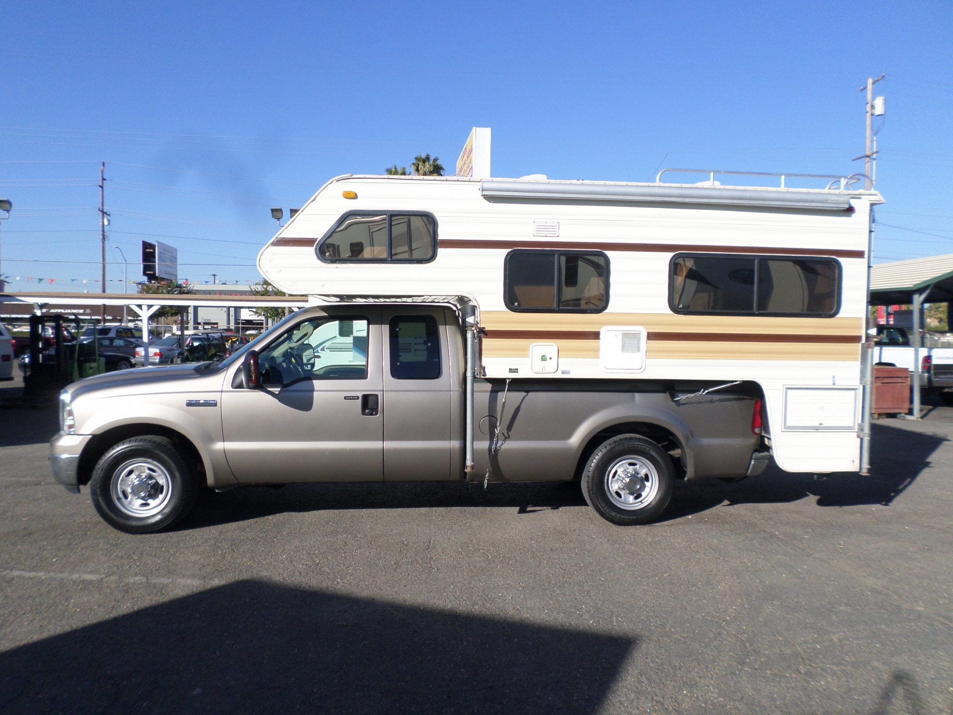 Lance Cab Over Camper and 2006 Ford F-250 XLT Quad Cab 1987