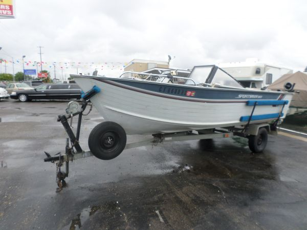 1989 Bluefin Sportsman 1900 For Sale $5900 - Lodi Stockton