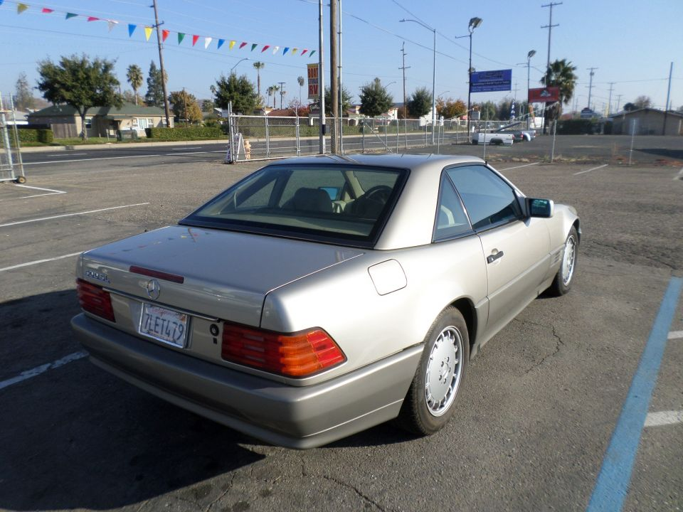 Car for sale 1992 mercedes benz 500sl convertible in lodi for 1992 mercedes benz convertible