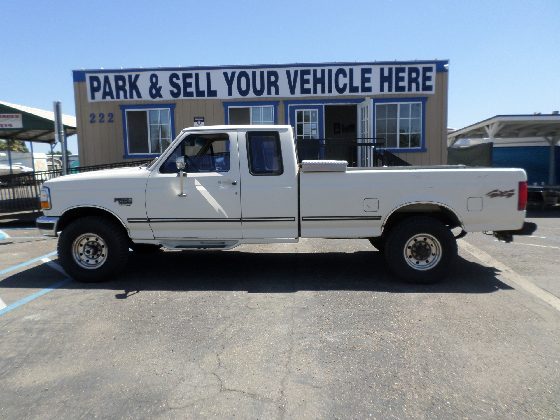 Ford F250 Diesel 4x4 King Cab Long Bed 1996