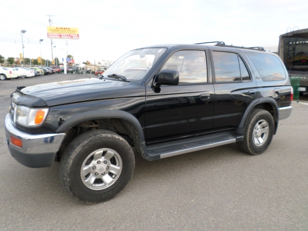 suv for sale 1996 toyota 4 runner in lodi stockton ca. Black Bedroom Furniture Sets. Home Design Ideas