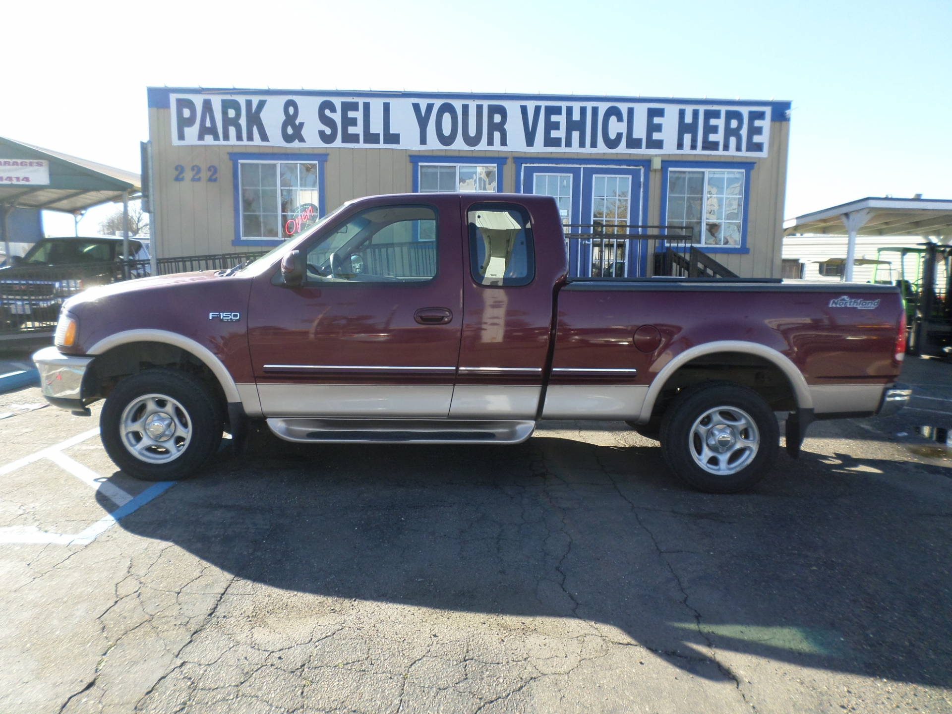 1997 Ford F150 4x4 SuperCab Short Bed