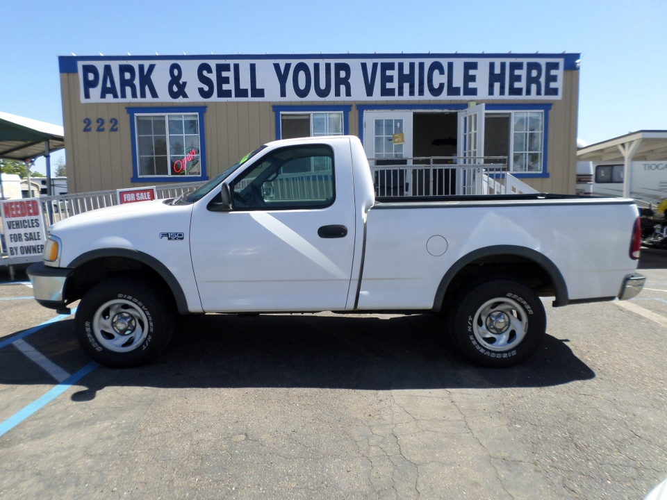 truck for sale 1997 ford f150 regular cab 4x4 xl in lodi. Black Bedroom Furniture Sets. Home Design Ideas