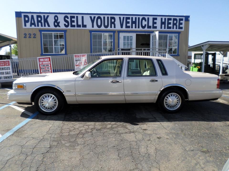 Car For Sale 1988 Lincoln Town Car Limousine In Lodi Stockton Ca