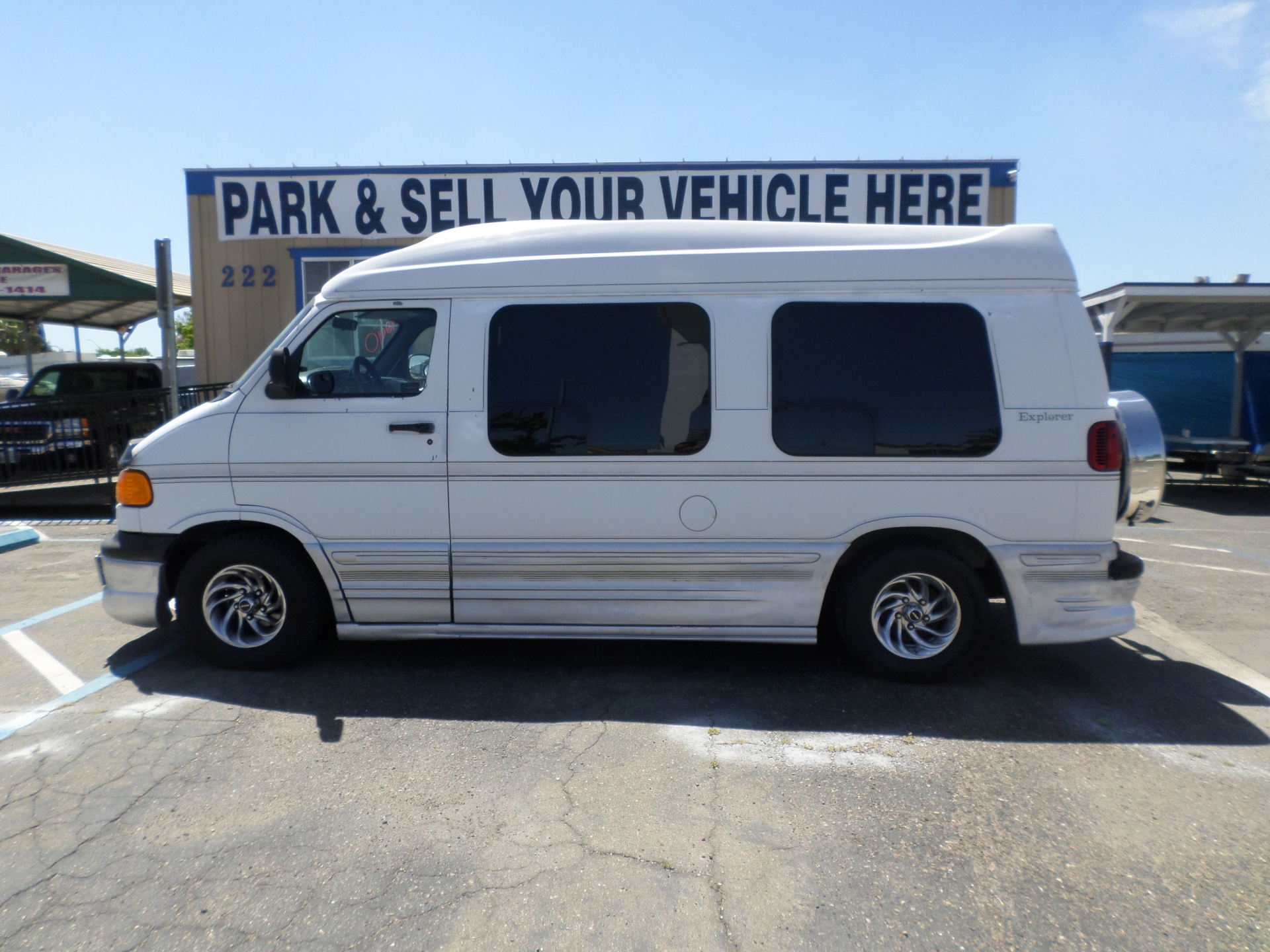 Dodge Ram Van 1500 Explorer Conversion Van 2000
