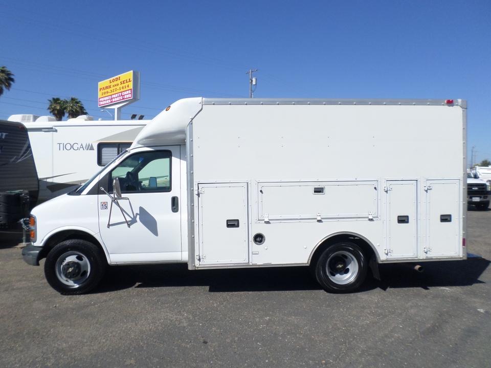 Commercial Equipment For Sale  2002 Chevrolet Express Cutaway Van In Lodi Stockton Ca