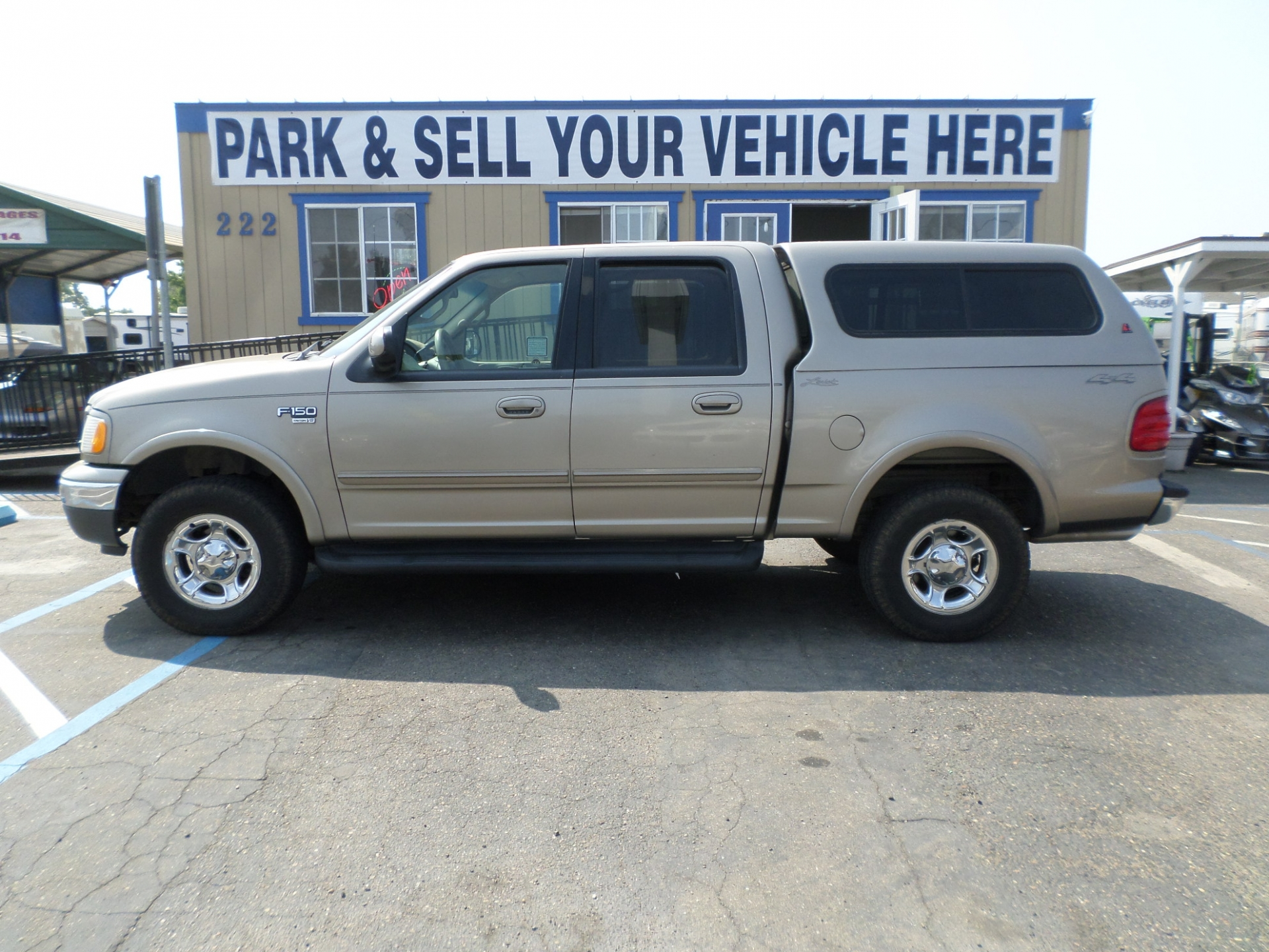 Ford f150 supercrew cab 4x4 short bed 2002