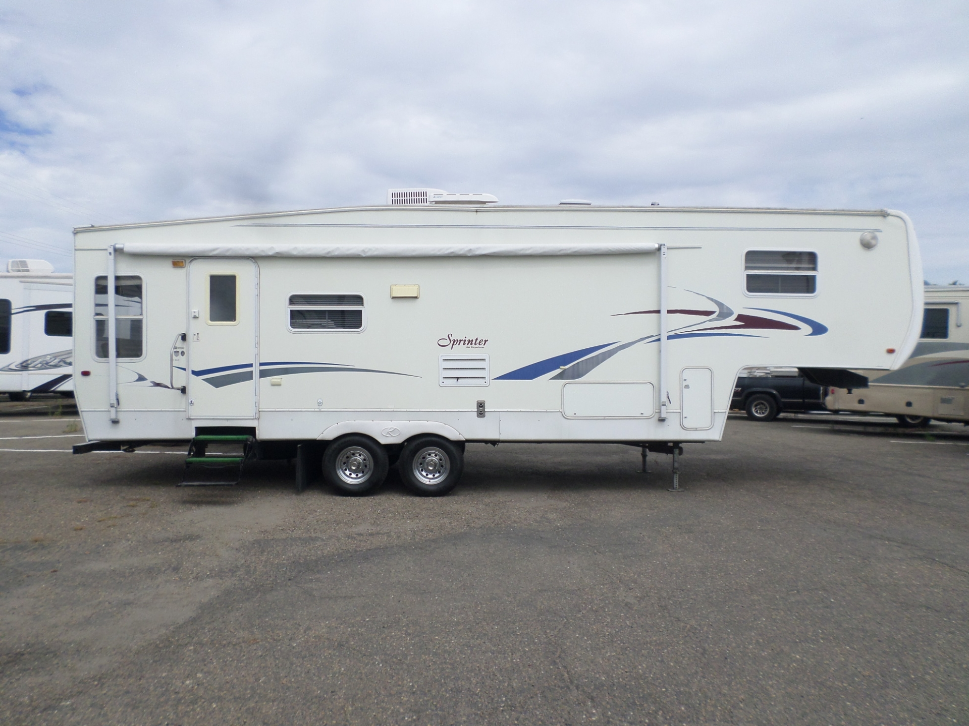Keystone Sprinter Fifth Wheel 2002