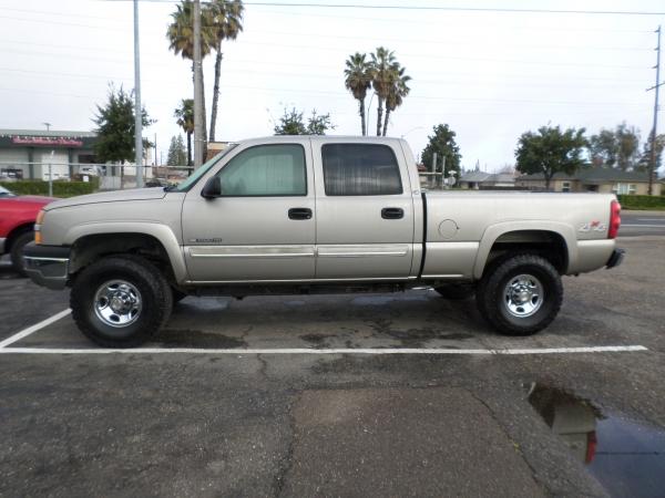 Truck For Sale 2003 Chevrolet Silverado1500 Hd Crew Cab 4x4