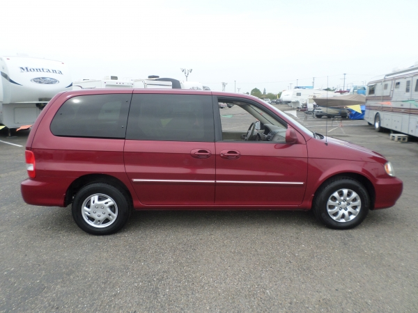 Van For Sale 2004 Kia Sedona Van In Lodi Stockton Ca Lodi Park And Sell