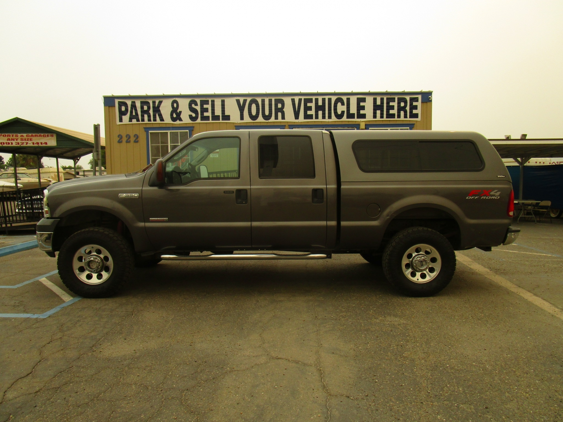 Ford F350 4x4 Diesel SuperCrew Cab 2005