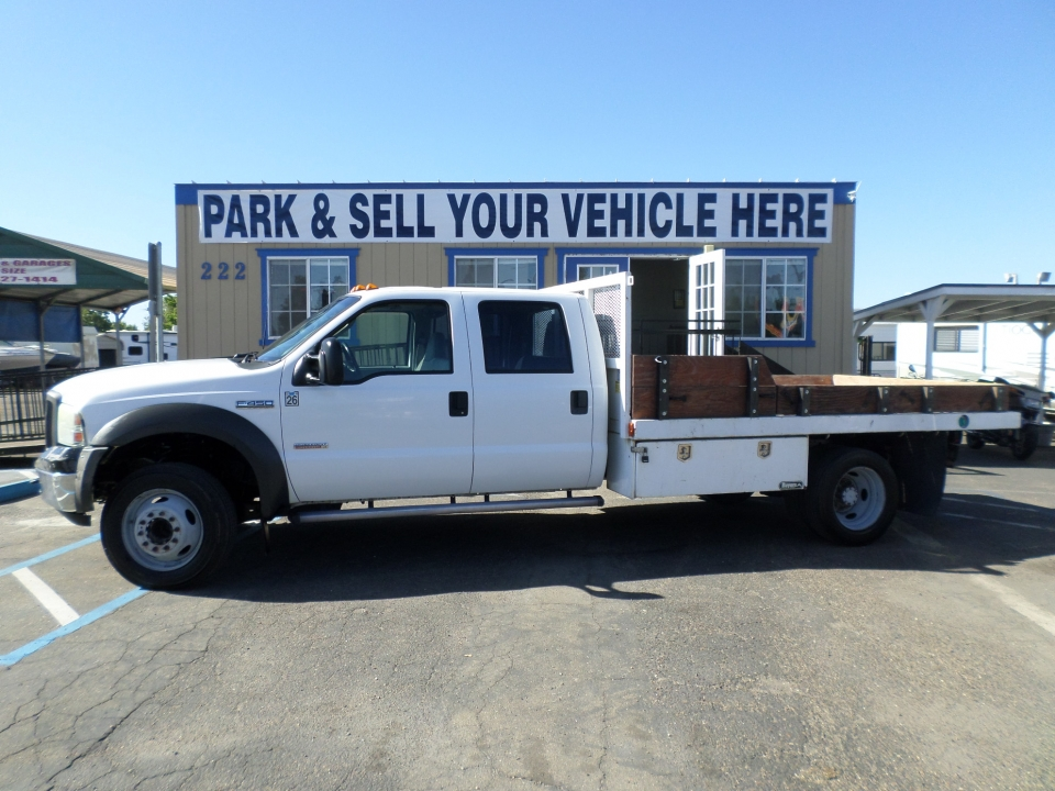 Commercial Equipment For Sale 2005 Ford F450 Super Duty Crew Cab