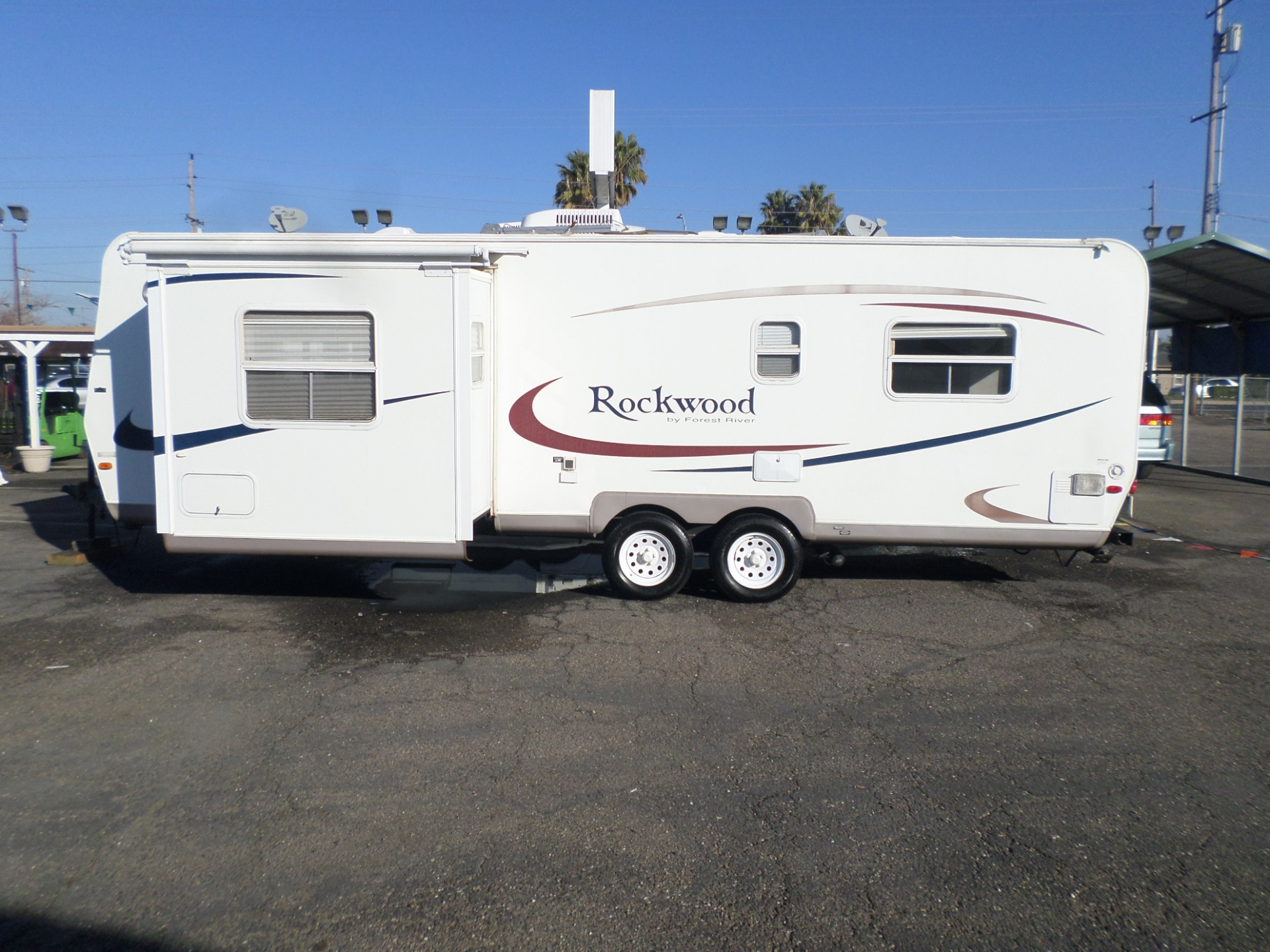 Forest River Rockwood Travel Trailer 2005