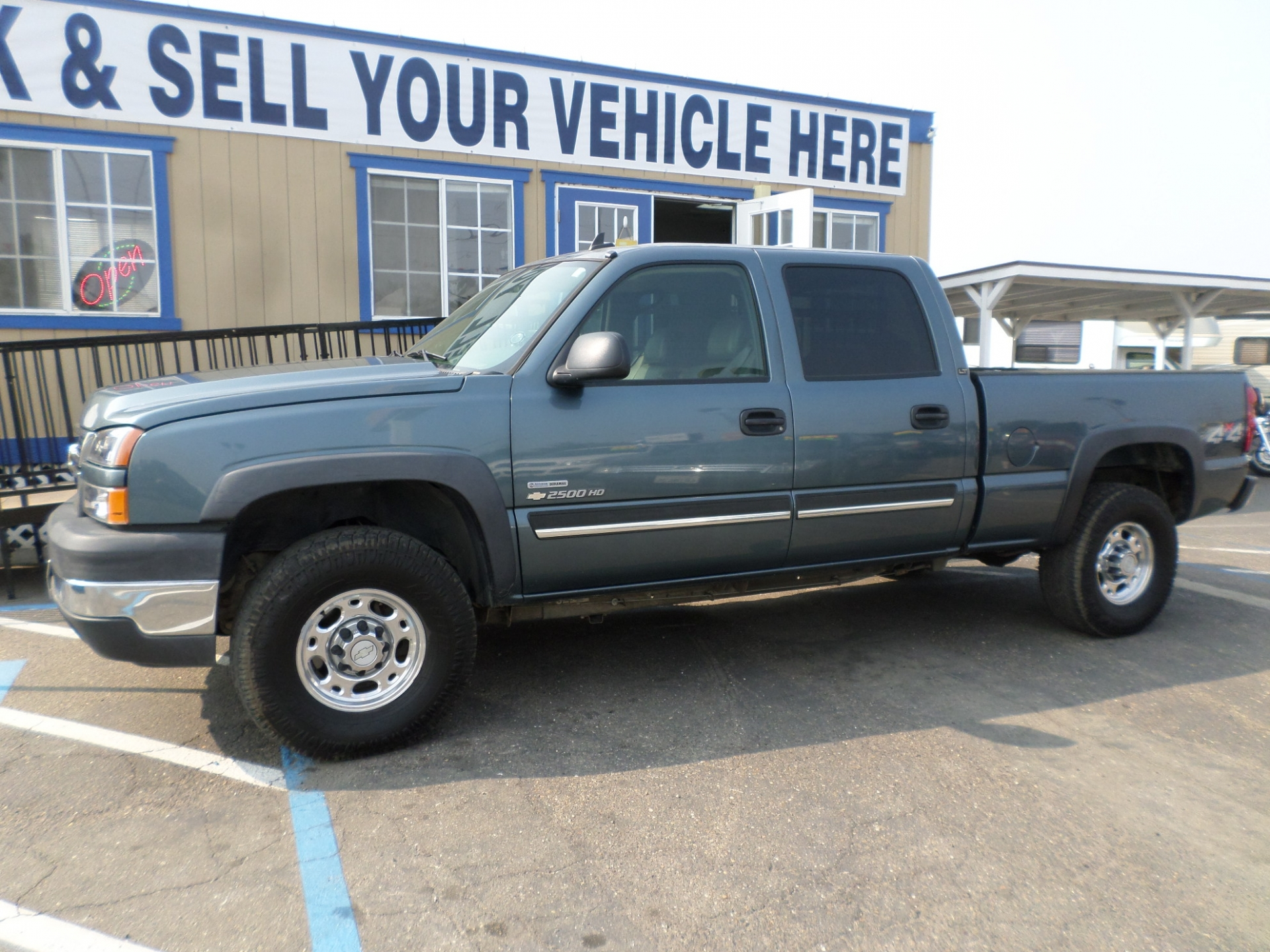 Truck For Sale 2006 Chevrolet Silverado Lt 2500 Hd Crew Cab Duramax Diesel 4x4 Pickup Truck In Lodi Stockton Ca Lodi Park And Sell