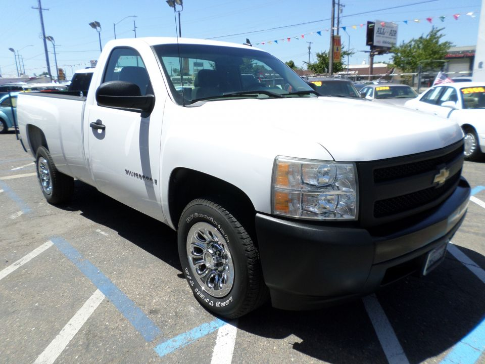2008 Chevrolet Silverado Long Bed