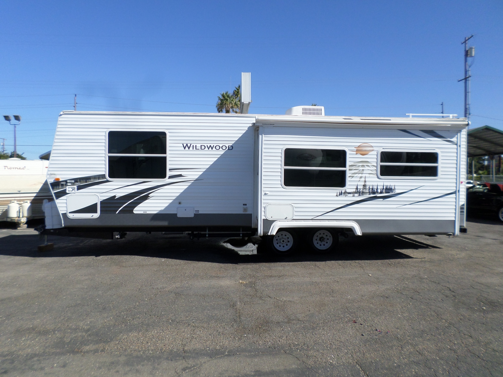 2008 Forest River Wildwood Travel Trailer