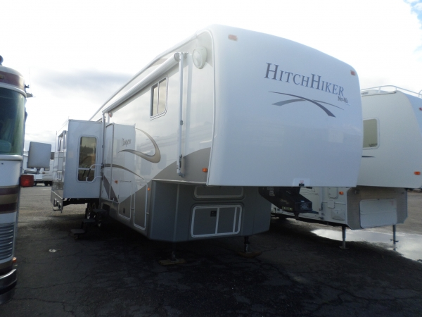 Rv for sale 2008 nuwa hitchiker champagne ckrd 37 ft for Exterior design lodi ca