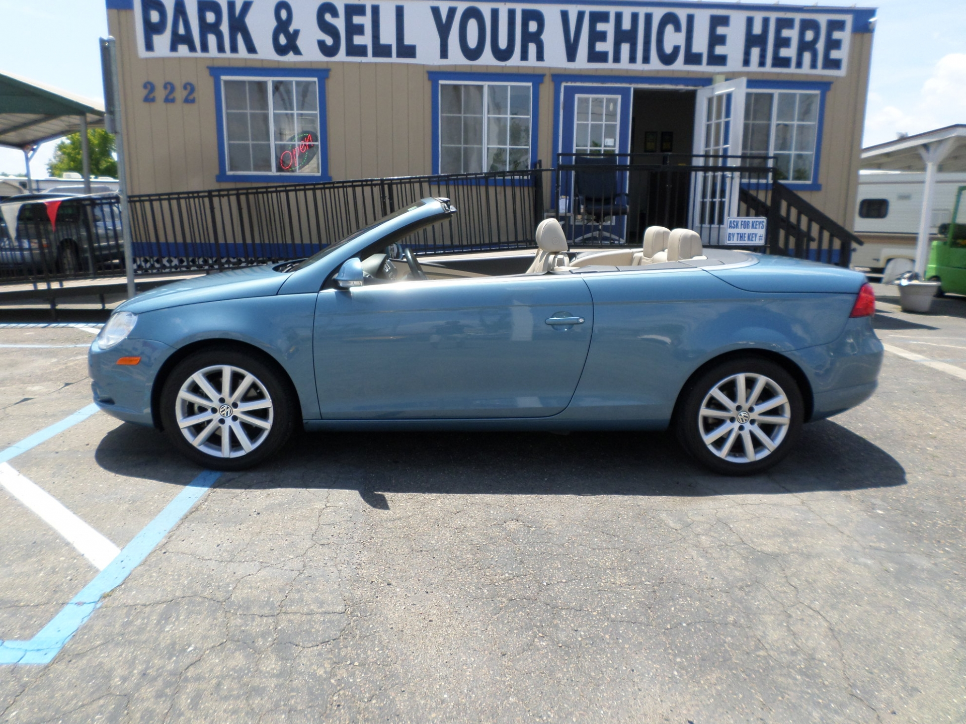 Cars For Sale In Stockton Ca: Car For Sale: 2008 Volkswagen Eos Turbo Convertible In