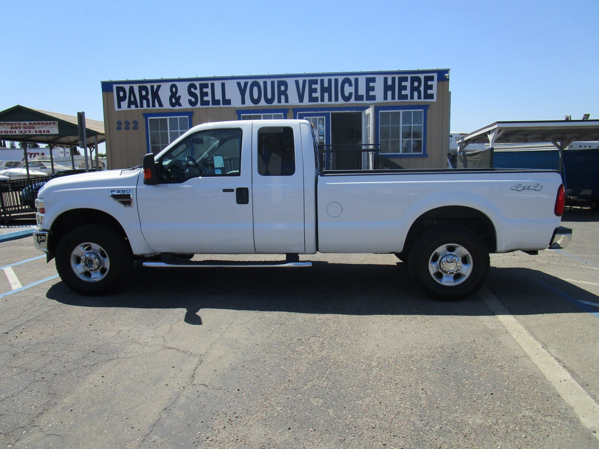 Ford F-250 Super Duty 4x4 Crew Cab Diesel 2010