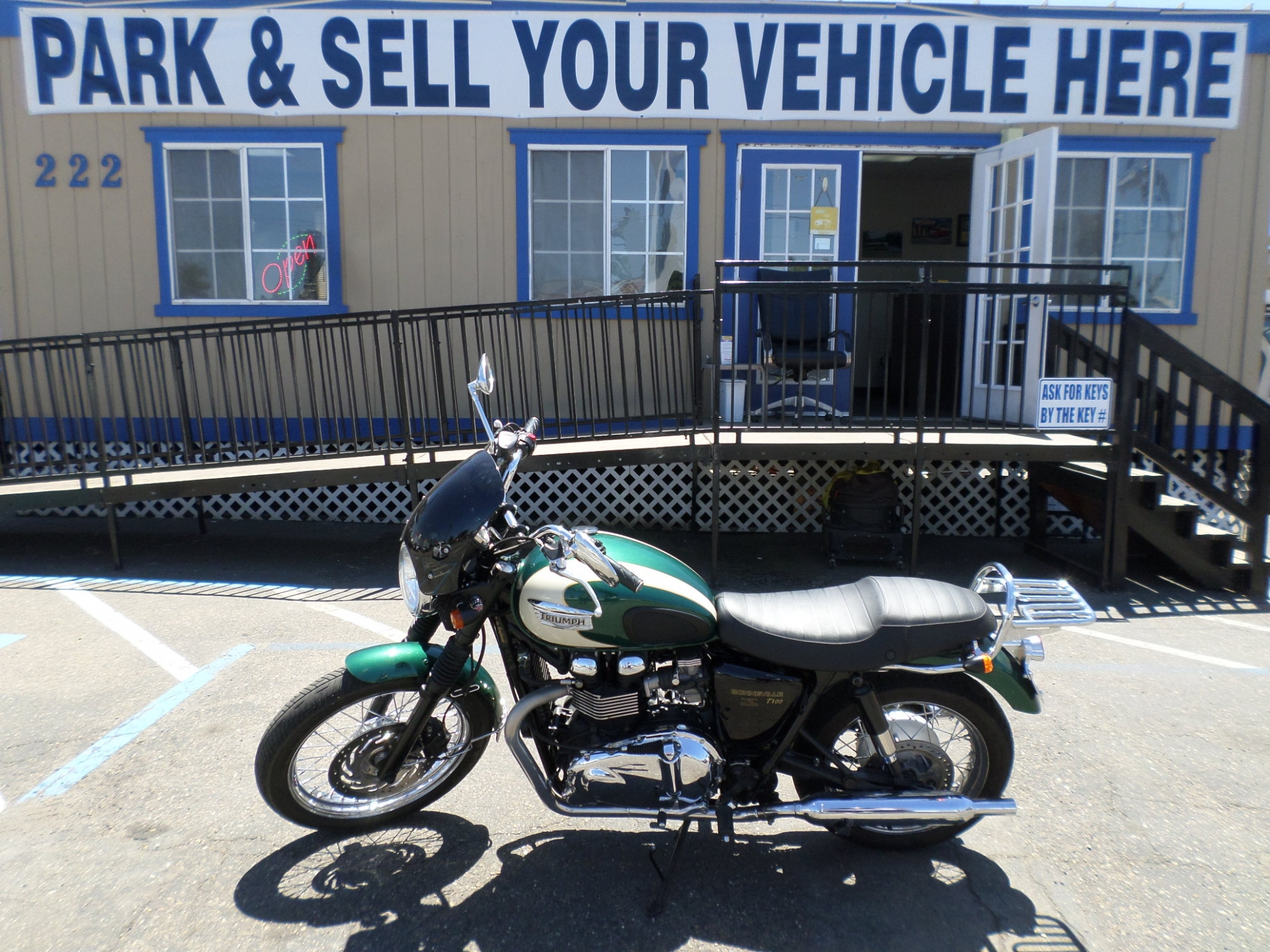Motorcycle For Sale  2004 Triumph Bonneville America In