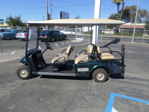 EZ-GO Golf Cart 6 Passenger 2011