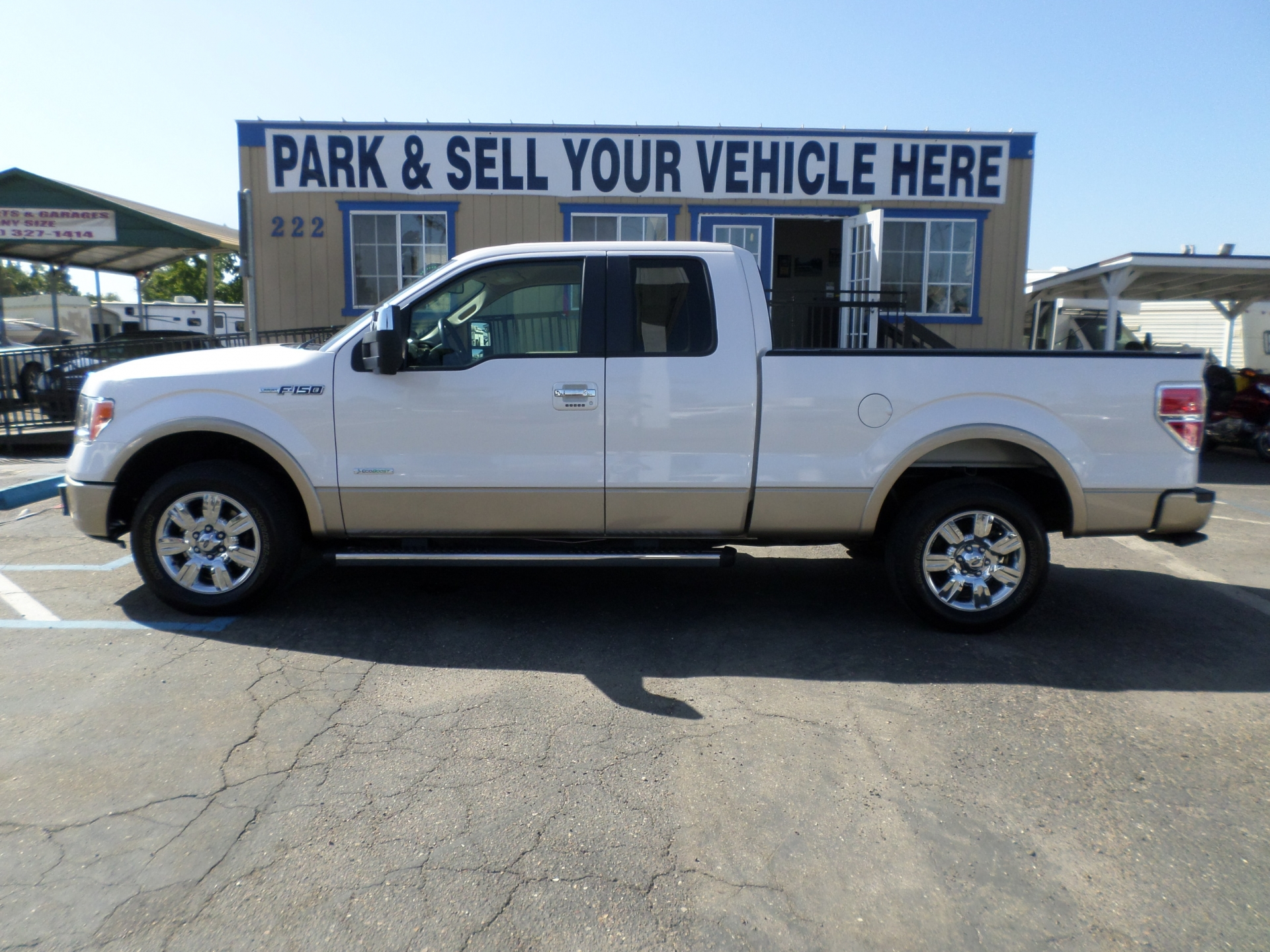 Ford F150 Supercab Lariat 2011