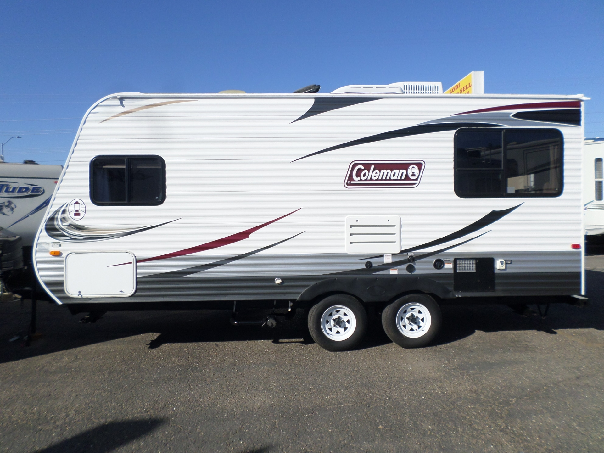 Dutchmen Coleman CT192RD Travel Trailer 2013
