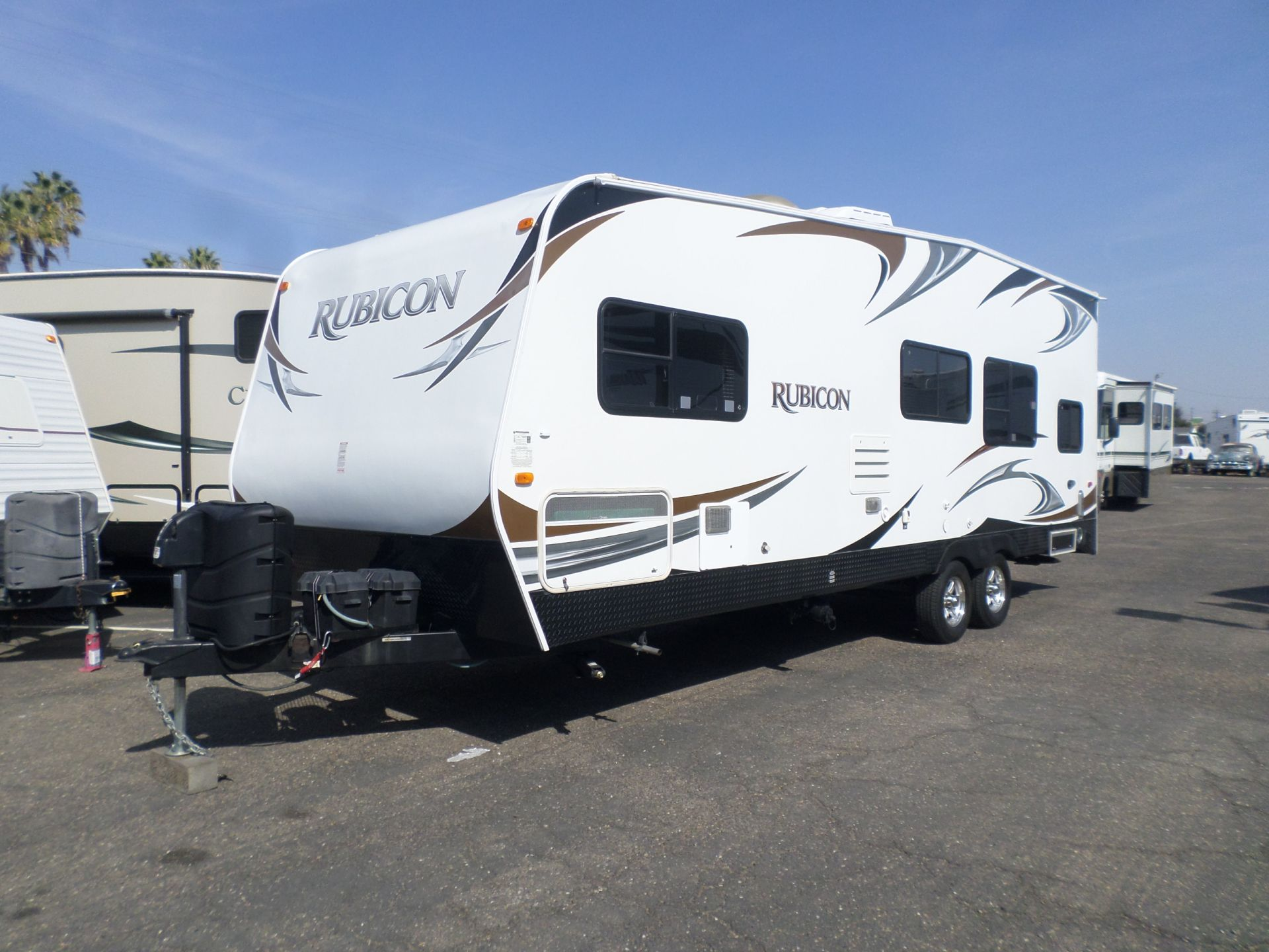 2013 Dutchmen Rubicon Toy Hauler Travel Trailer  26'
