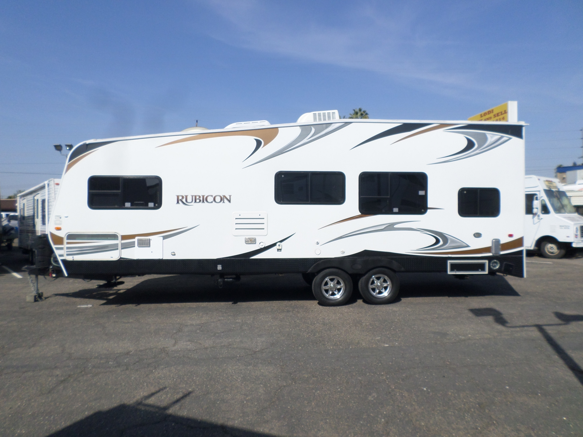 Dutchmen Rubicon Toy Hauler Travel Trailer 2013