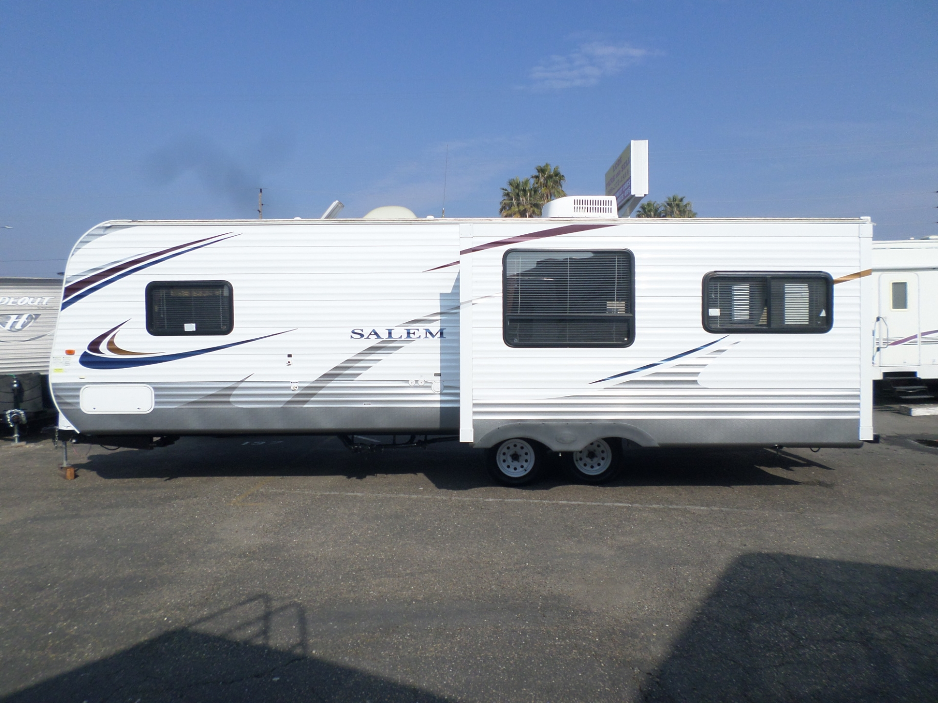 Forest River Salem Travel Trailer 2013