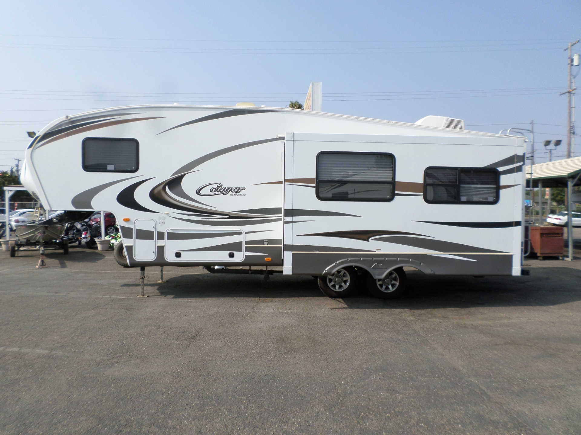 RV For Sale: 2012 Keystone Vizion 3544 Fifth Wheel 36' In