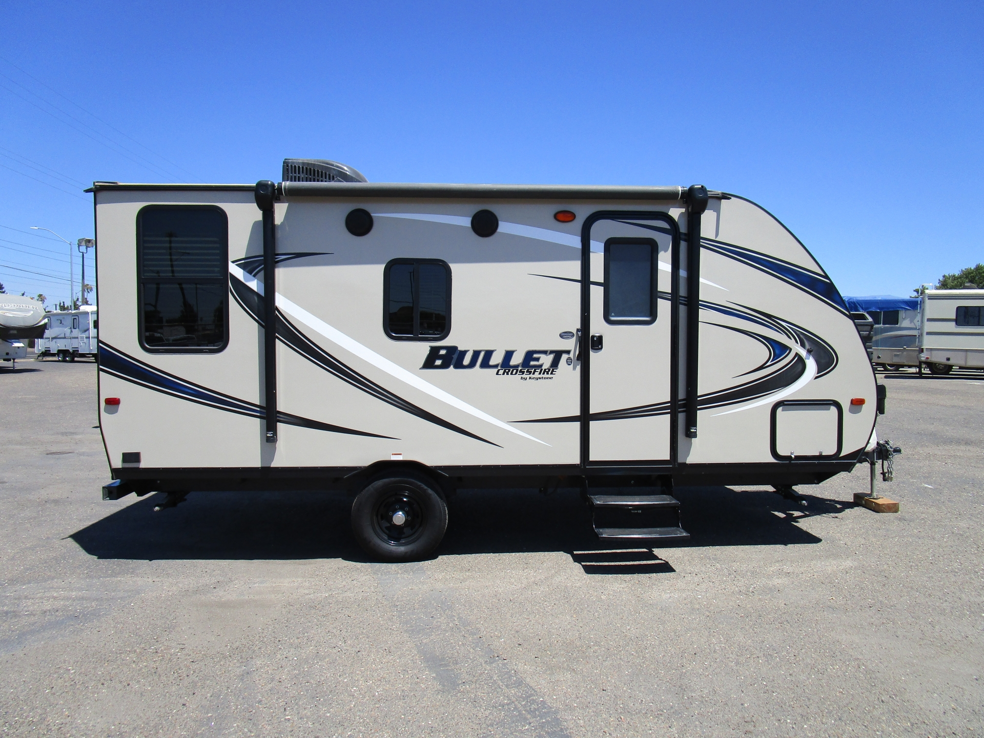 Keystone Bullet Crossfire Travel Trailer 2017