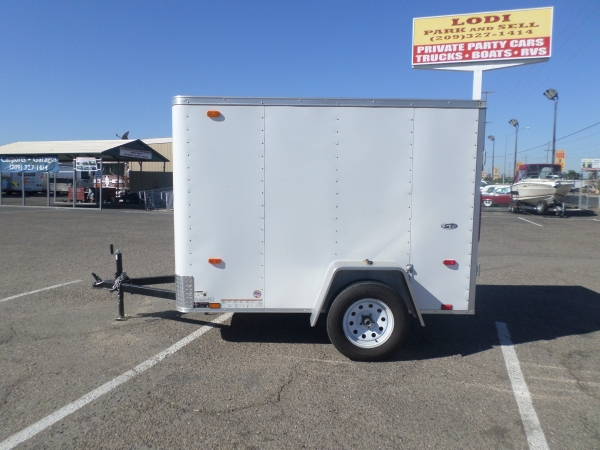 2017 Look Trailers ST Small Cargo Trailer 5x8