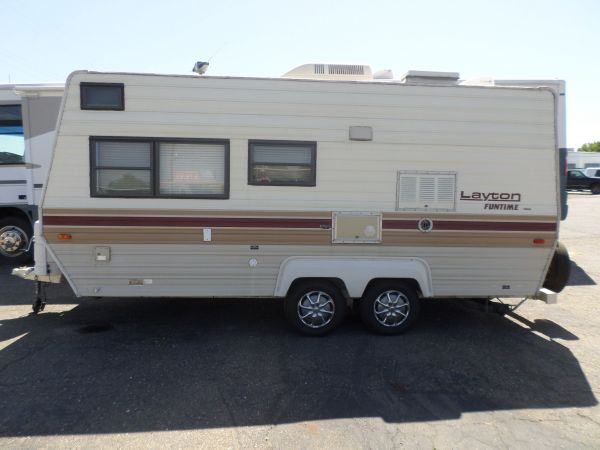 1988 Layton Pull Trailer 19 For Sale 3800 Lodi Park And