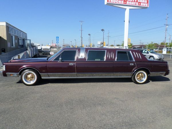 Car For Sale 1988 Lincoln Town Car Limousine In Lodi Stockton Ca