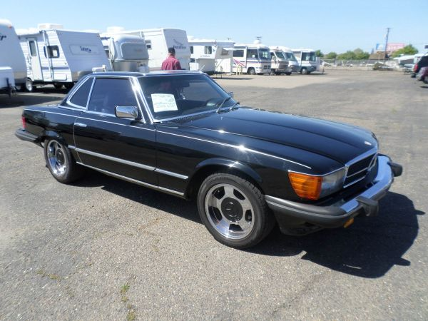 Mercedes-Benz 380SL Convertible 1983