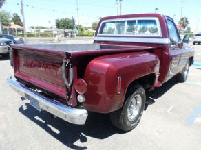 1974 Chevrolet Cheyenne C10 Step side Photo 3