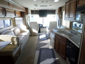 2001 Fleetwood Discovery Class A Motorhome Diesel Pusher Photo 5