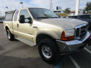 2001 Ford Supercab F-250 XLT Shortbed Photo 2