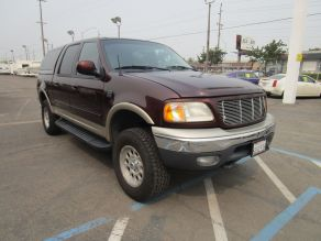 2001 Ford F150 4x4 SuperCrew Cab Photo 2