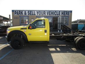 2011 Ford F550 Cab  Chassis Photo 1